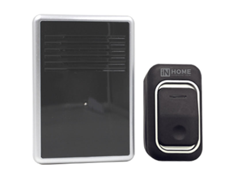 Звонок дверной In Home ЗБ-10 Black-White