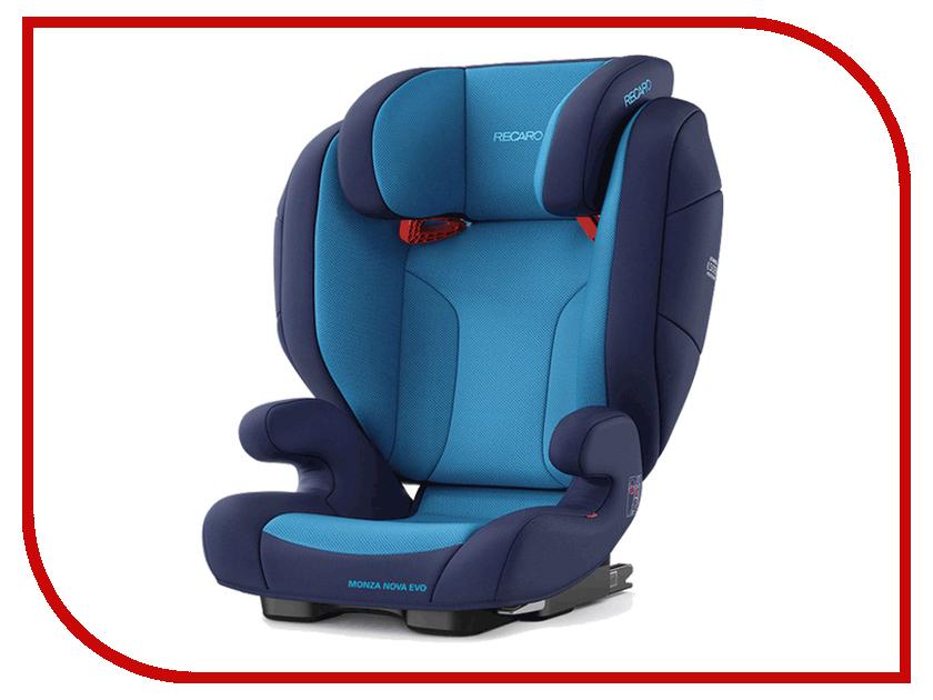 Автокресло Recaro Monza Nova Evo Seatfix Xenon Blue нож универсальный borner ideal длина лезвия 13 см