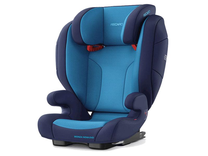цена на Автокресло Recaro Monza Nova Evo Seatfix Xenon Blue