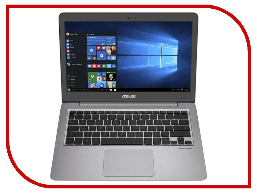 Ноутбук ASUS U310UA-FC1076T 90NB0CJ1-M17970 (Intel Core i3-7100U 2.4 GHz/4096Mb/1000Gb/No ODD/Intel HD Graphics/Wi-Fi/Cam/13.3/1920x1080/Windows 10 64-bit) стоимость
