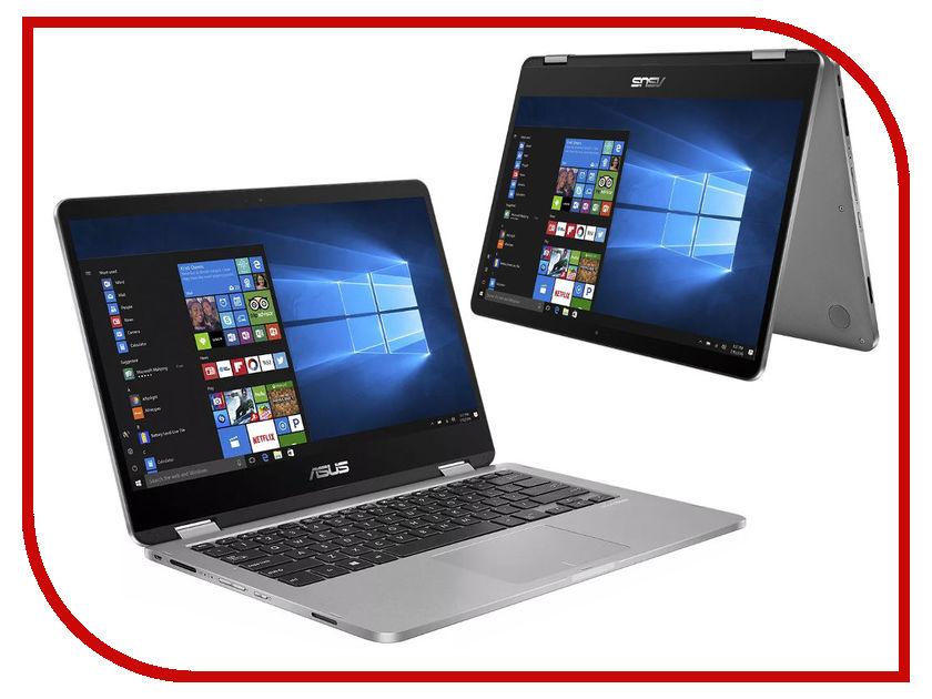 Ноутбук ASUS TP401CA-EC104T 90NB0H21-M01850 (Intel Core m3-7Y30 1.0 GHz/4096Mb/128Gb SSD/No ODD/Intel HD Graphics/Wi-Fi/Cam/14.0/1920x1080/Windows 10 64-bit) ноутбук asus transformer 3 t305ca 12 6 2880x1920 intel core m3 7y30 ssd 128 4gb hd graphics 615 серый windows 10 home 90nb0d81 m00250