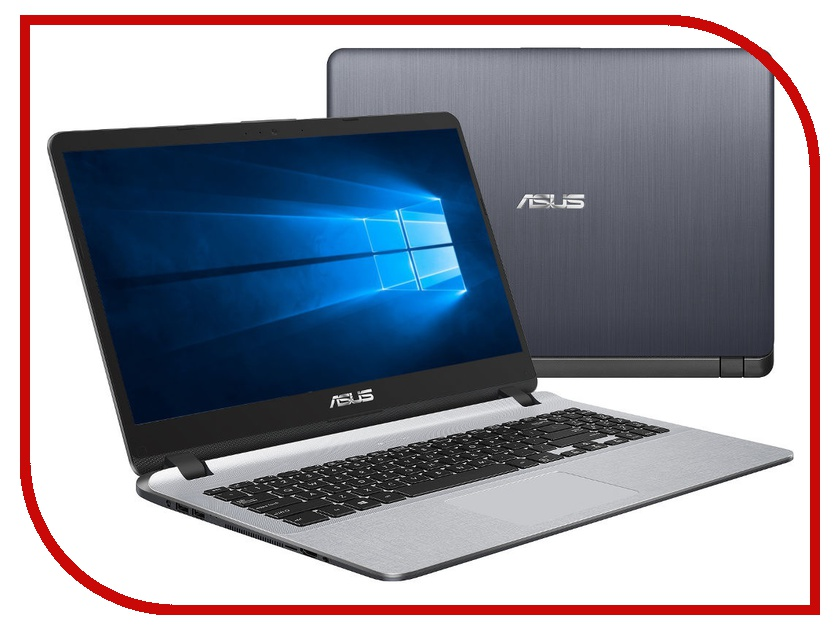 Ноутбук ASUS X507UB-BQ256T 90NB0HN1-M03580 (Intel Core i5-7200U 2.5 GHz/4096Mb/500Gb/nVidia GeForce MX110/Wi-Fi/Cam/15.6/1920x1080/Windows 10 64-bit) ноутбук asus a507ub ej159t 90nb0hn1 m02020