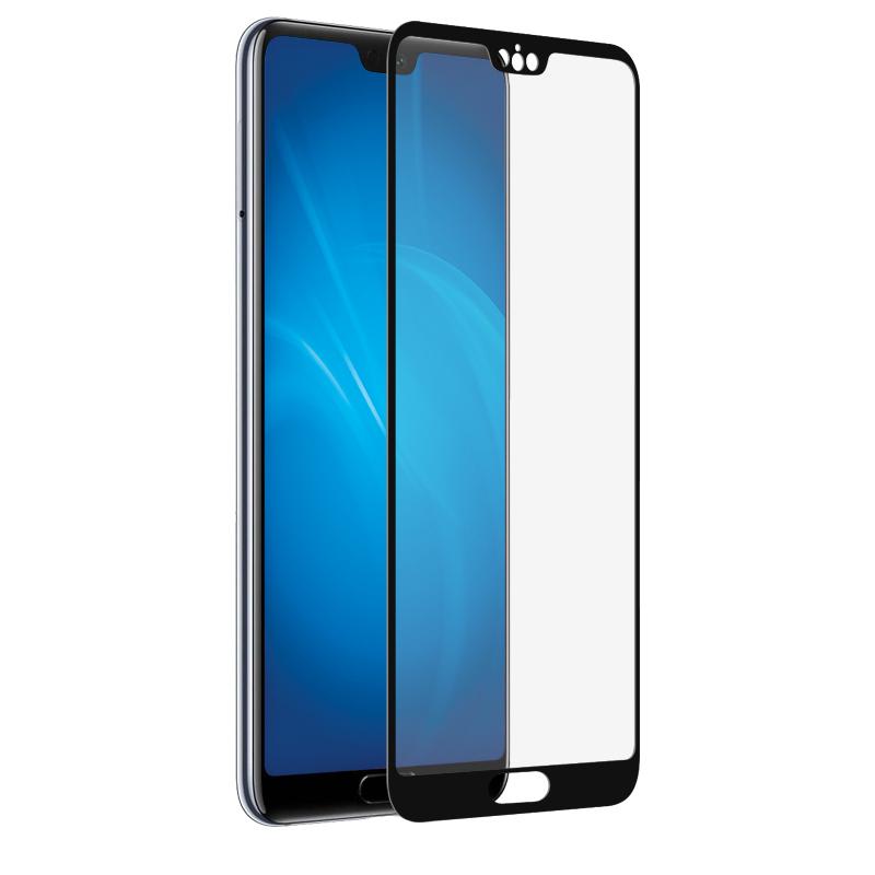 Фото - Аксессуар Закаленное стекло DF для Huawei P20 Plus/Pro Fullscreen hwColor-41 Black Frame закаленное стекло с цветной рамкой fullscreen для huawei honor 7a pro y6 2018 df hwcolor 53 black