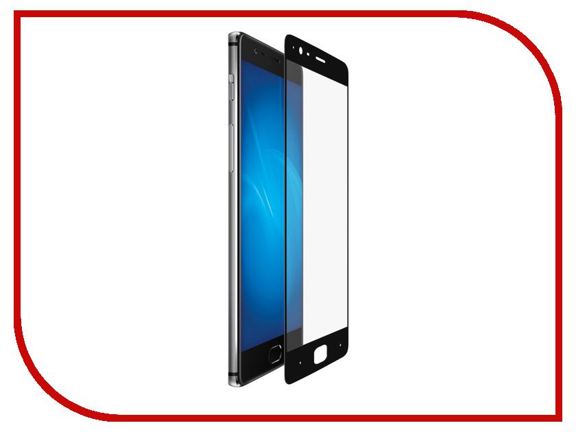 Аксессуар Закаленное стекло для OnePlus 3 DF Fullscreen opColor-01 Black Frame