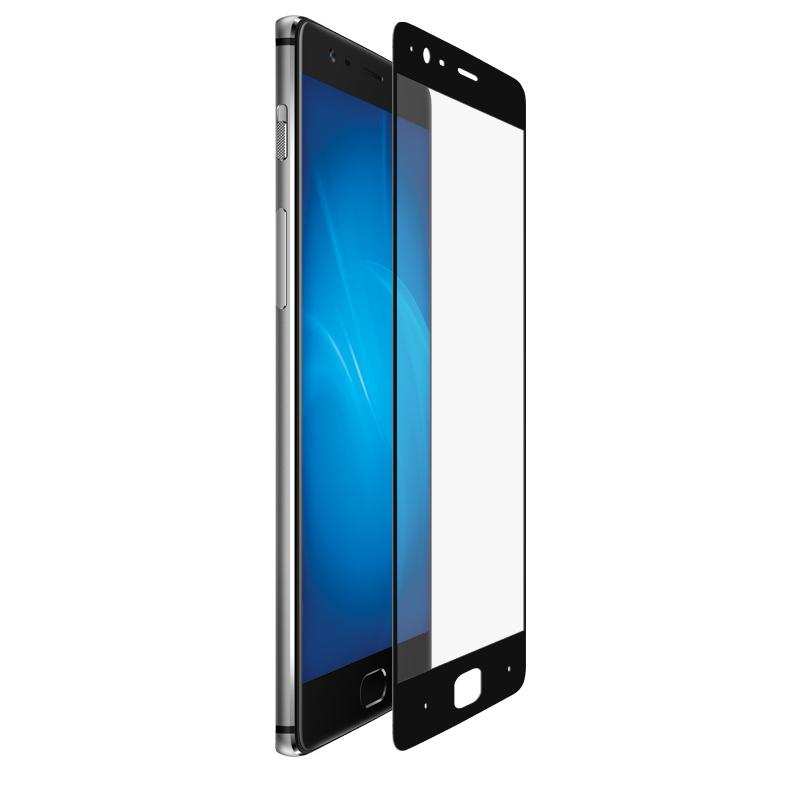 Аксессуар Закаленное стекло DF для OnePlus 3 Fullscreen opColor-01 Black Frame