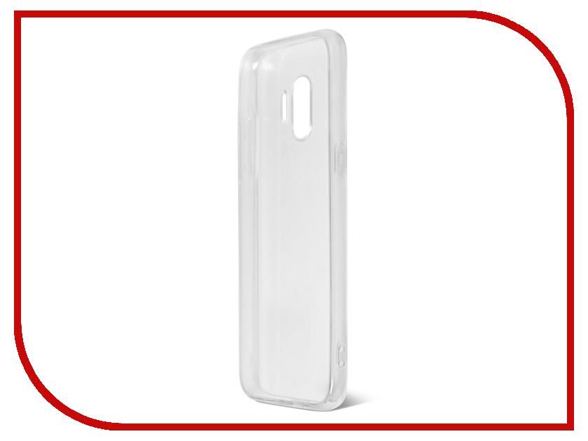 Аксессуар Чехол Samsung Galaxy S9 DF Super Slim sCase-58 аксессуар чехол накладка samsung galaxy s5 df scase 03