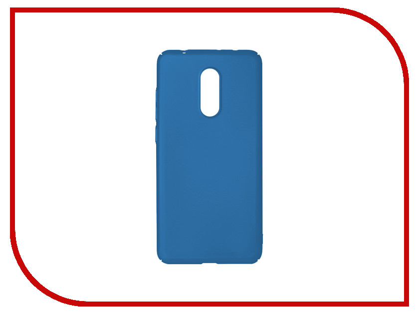 Аксессуар Чехол для Xiaomi Redmi 5 DF Soft-Touch xiSlim-02 Blue