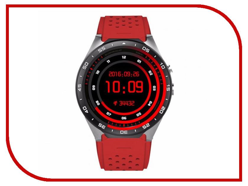 Фото - Умные часы KingWear KW88 Red jsbp s1 plus heart rate monitor smart watch electronics mtk6580 quad core gps 3g wifi smartwatch pk kingwear kw88 samrt watches