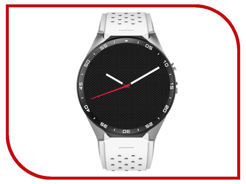 Фото - Умные часы KingWear KW88 White jsbp s1 plus heart rate monitor smart watch electronics mtk6580 quad core gps 3g wifi smartwatch pk kingwear kw88 samrt watches