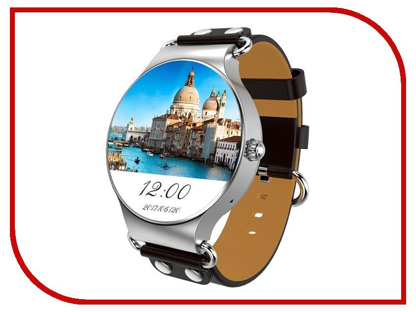 Умные часы KingWear KW98 Silver-Black