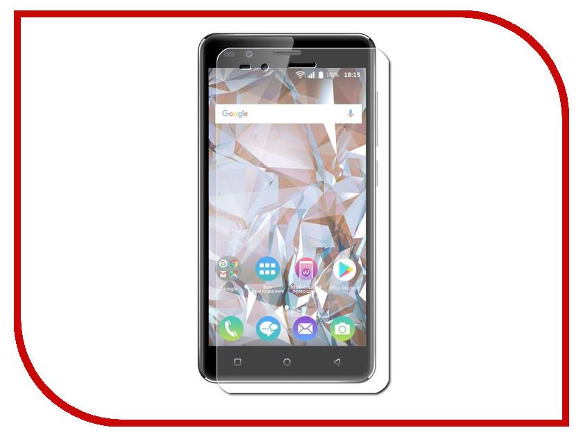 Аксессуар Защитное стекло для BQ BQ-5054 Crystal 5 Red Line Tempered Glass УТ000014176