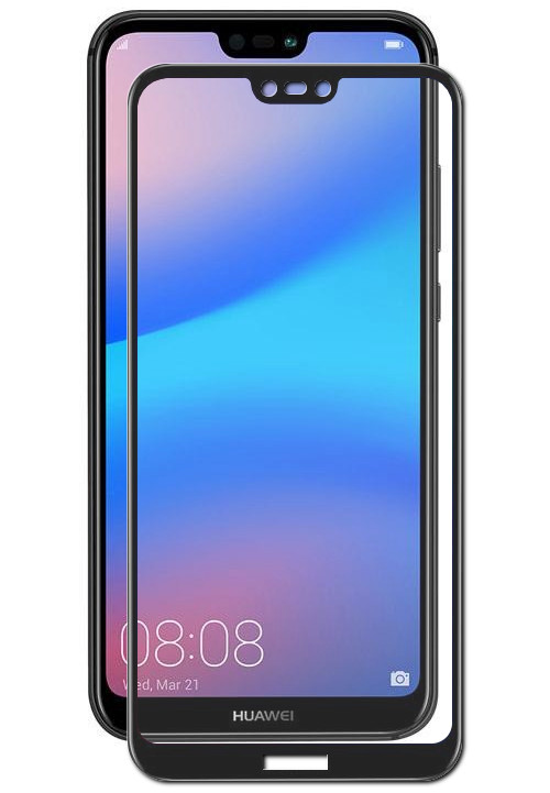 Аксессуар Защитное стекло Red Line для Huawei P20 Lite Full Screen Tempered Glass Black УТ000015079 цена и фото