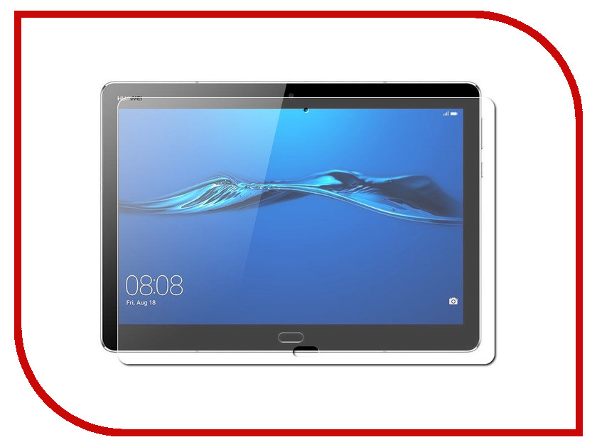 Аксессуар Защитная пленка для Huawei MediaPad M3 Lite 10.0 Red Line УТ000015063 for huawei mediapad m3 lite 8 0 pu leather case luxury cover flip stand lite cover tablet accessories