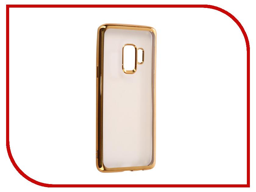 Аксессуар Чехол для Samsung Galaxy S9 iBox Blaze Silicone Gold Frame аксессуар чехол samsung galaxy j5 2017 ibox blaze silicone black frame