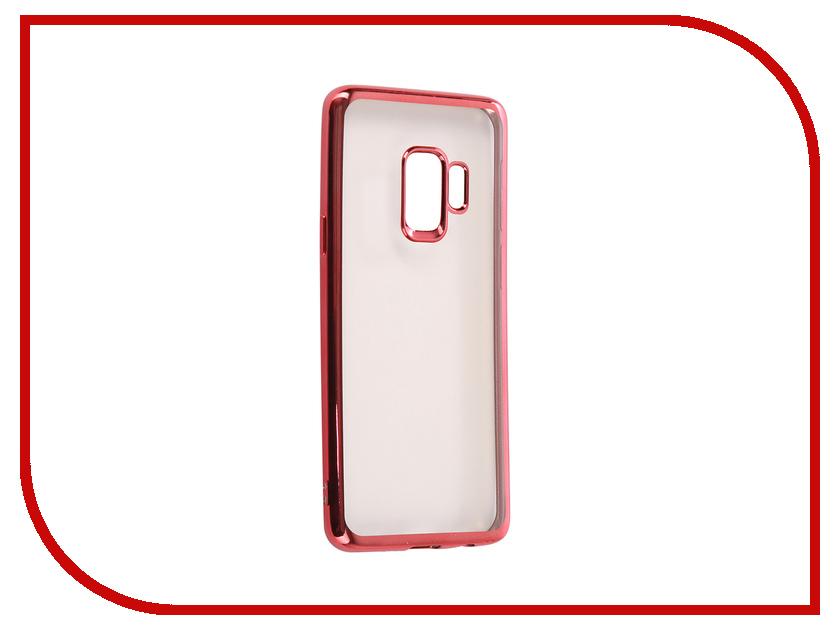 Аксессуар Чехол Samsung Galaxy S9 iBox Blaze Silicone Pink Frame аксессуар чехол samsung galaxy j5 2017 ibox blaze silicone black frame