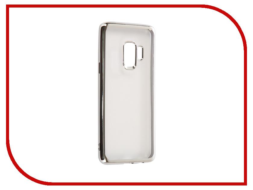 Аксессуар Чехол для Samsung Galaxy S9 iBox Blaze Silicone Silver Frame skinbox silicone chrome border 4people чехол для samsung galaxy a5 2016 dark silver