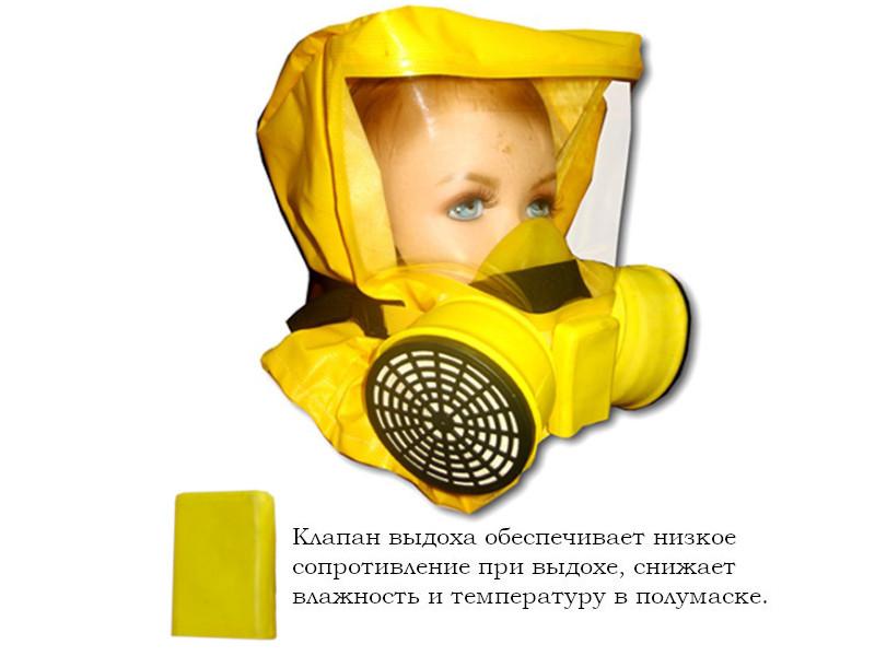 Самоспасатель Шанс-Е с полумаской для детей ч/м