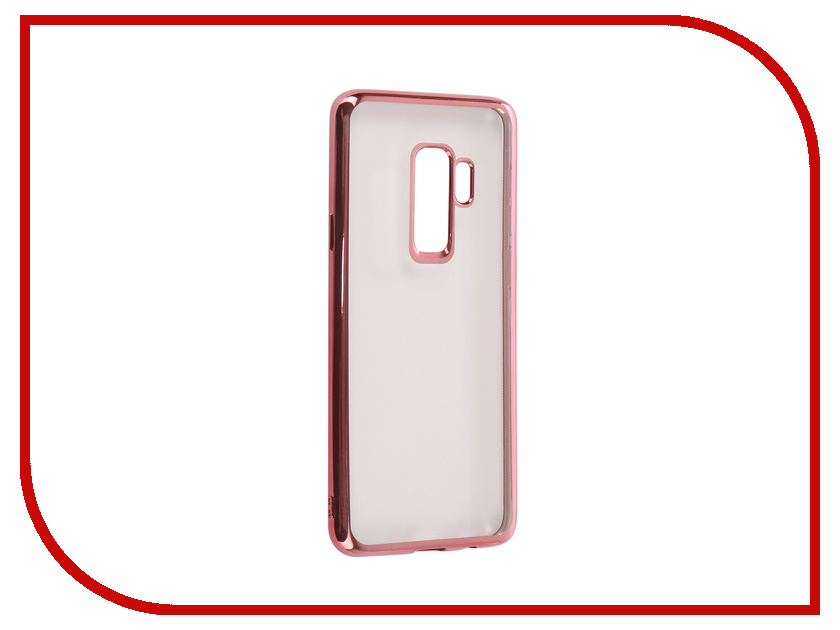 Аксессуар Чехол для Samsung Galaxy S9 Plus iBox Blaze Silicone Pink Frame fashionable protective bumper frame case with bowknot for samsung galaxy s3 i9300 black