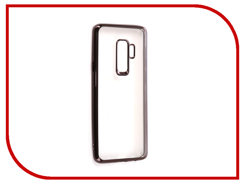 Аксессуар Чехол для Samsung Galaxy S9 Plus iBox Blaze Silicone Black Frame homtom s9 plus 4g phablet