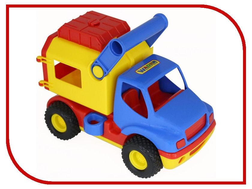 Игрушка Полесье КонсТрак - Фургон 44754 полесье бетоновоз констрак цвет синий