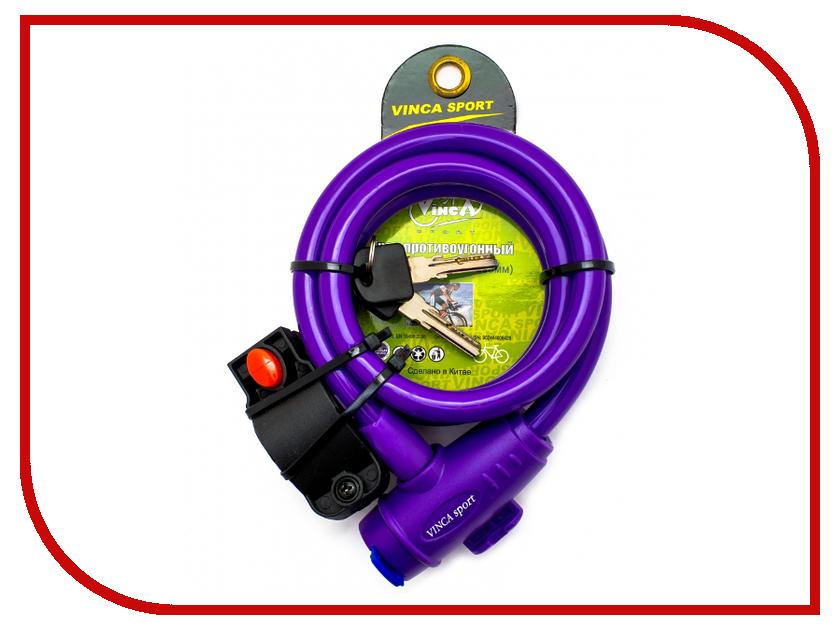 Замок Vinca Sport VS 588 12mm x 120cm Violet