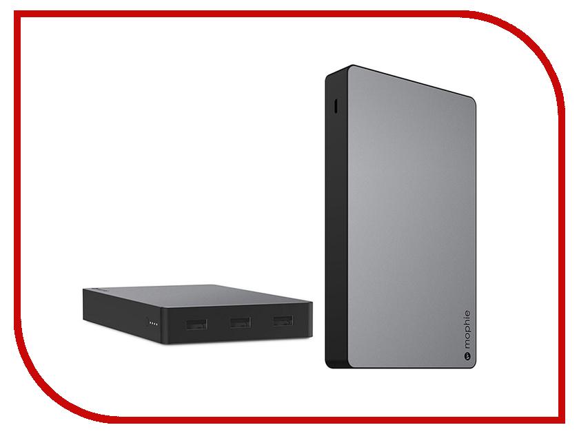 Аккумулятор Mophie Powerstation XXL 20000mAh Space Grey 3565 8 in 1 usb 3 1 type c to uab 3 0 4k hd hdmi vga audio sd card lan multi port combo tv video adapter cable