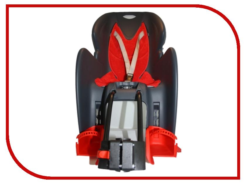 Велокресло Vinca Sport VS 11500 Grey-Red