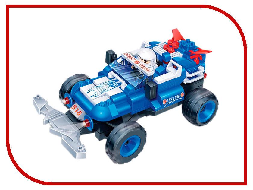 Конструктор Banbao Гоночная машина Blue 198 дет. 8215 / 187627 конструктор funny line motoblock машинка гоночная s black 75896