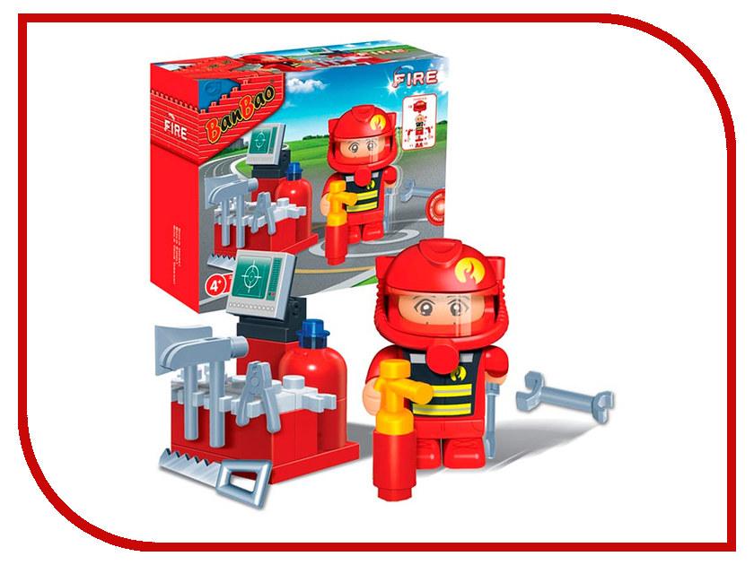 Конструктор Banbao Пожарный 25 дет. 8318 / 189104