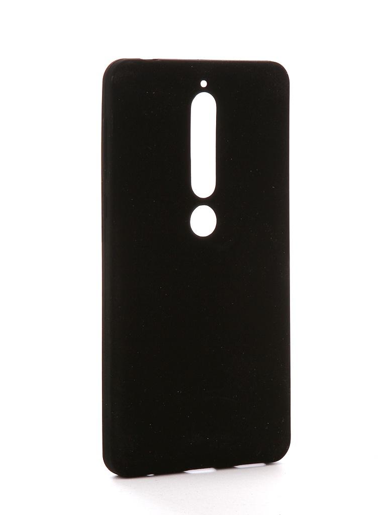 Аксессуар Чехол Zibelino для Nokia 6 2018 Soft Matte Black ZSM-NOK-6-2018-BLK