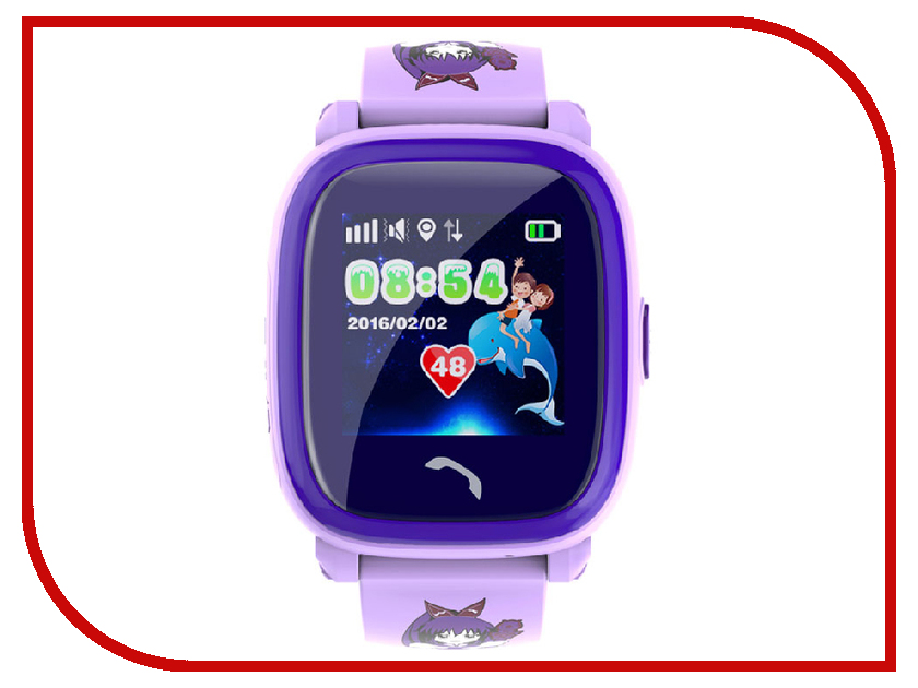 Умные часы Wonlex GW400S Violet детские часы с wonlex 400s черные