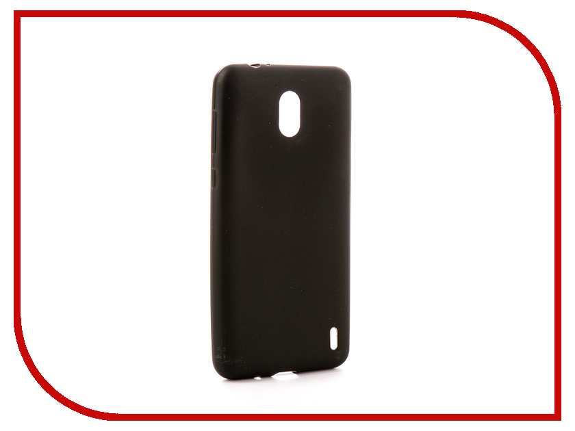 Аксессуар Чехол Nokia 2 Zibelino Soft Matte Black ZSM-NOK-2-BLK аксессуар чехол huawei nova zibelino soft matte black zsm hua nova blk