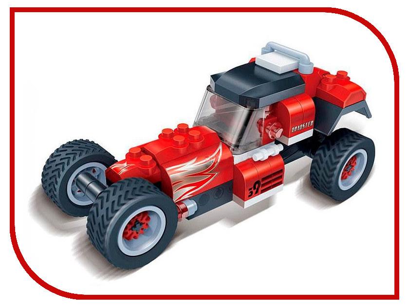 Конструктор Banbao Гоночная машина 105 дет. 8619 / 203509 конструктор banbao багги galileo 105 дет 8608 24882