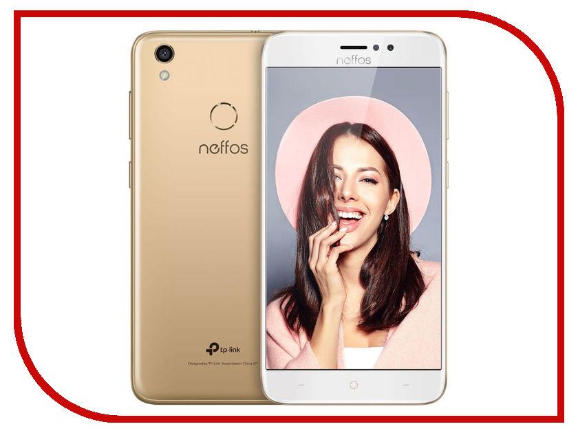 Сотовый телефон TP-LINK Neffos C7 Sunny Gold смартфон tp link neffos c5 белый tp701a14ru