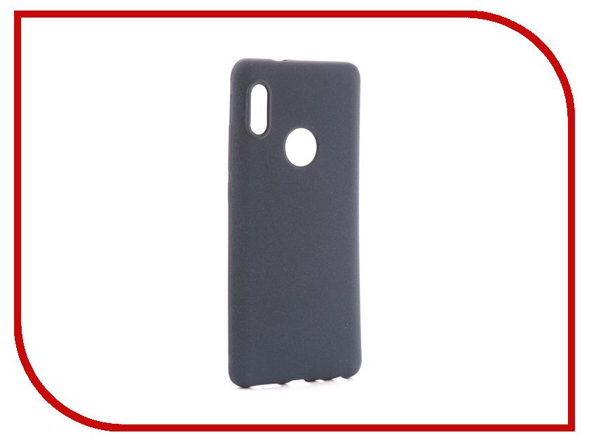 Аксессуар Чехол для Xiaomi Redmi Note 5 Pro Zibelino Soft Matte Dark Blue ZSM-XIA-RDM-NOT5-PRO-DBLU аксессуар чехол huawei p smart zibelino soft matte dark blue zsm hua psm dblu
