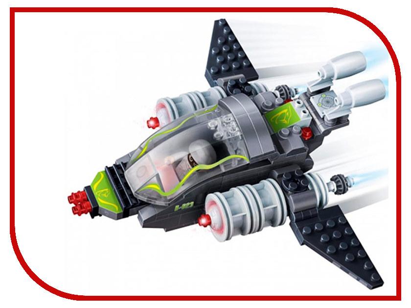 Конструктор Banbao Mission Eagle - Истребитель 155 дет. 6213 / 207091 конструктор crystaland shg006 истребитель 4 в 1 67 дет