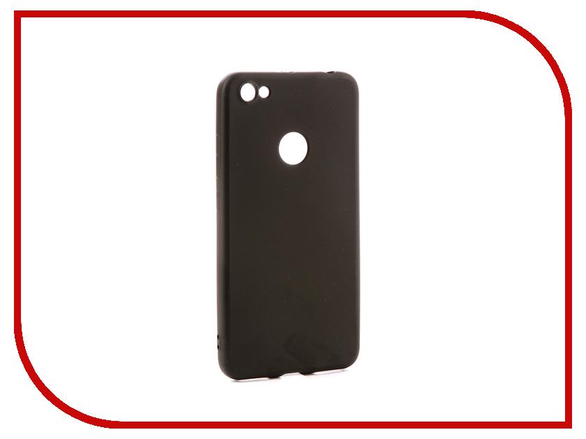 Аксессуар Чехол Xiaomi Redmi Note 5A 32Gb Zibelino Soft Matte Black ZSM-XIA-RDM-NOT5A-BLK аксессуар чехол xiaomi redmi note 4 zibelino classico black zcl xia not4 blk