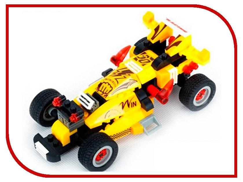 Конструктор Banbao Гоночная машина 132 дет. 8609 / 208614 конструктор funny line motoblock машинка гоночная s black 75896