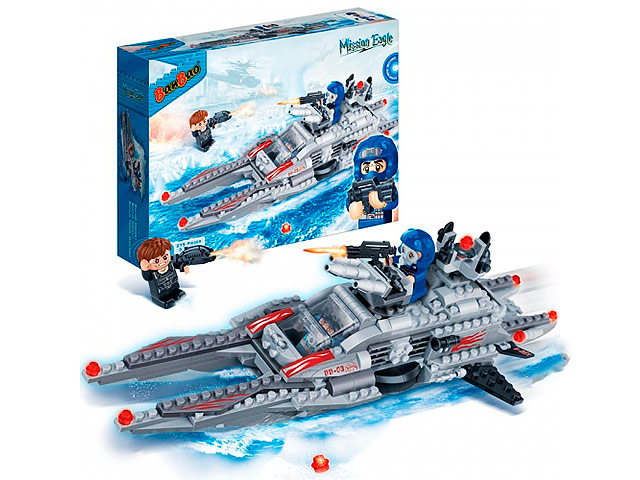 Конструктор Banbao Mission Eagle Подводная лодка 275 дет. 6211 / 209532