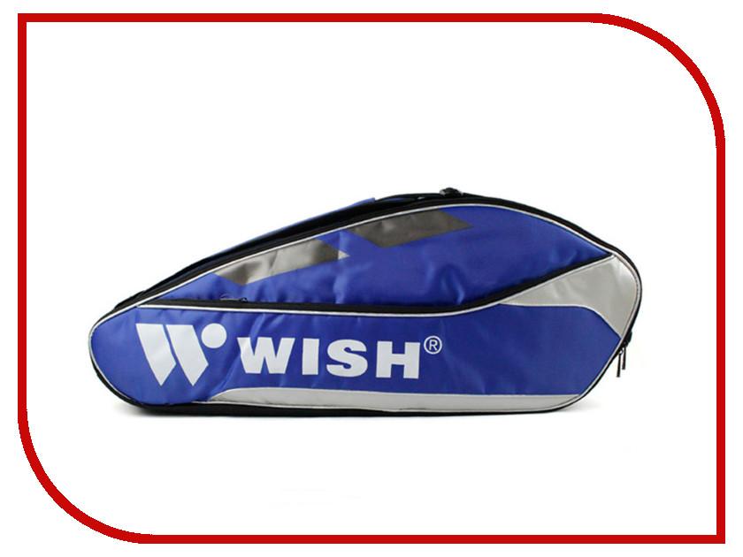Сумка для ракеток Wish WB020D Blue wish for a fish
