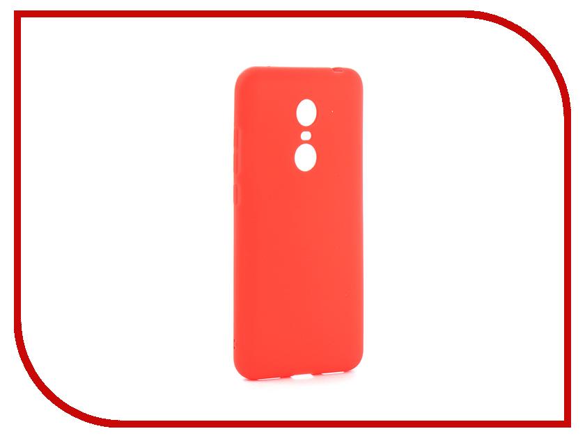 Аксессуар Чехол Xiaomi Redmi 5 Plus Zibelino Soft Matte Red ZSM-XIA-5PL-RED