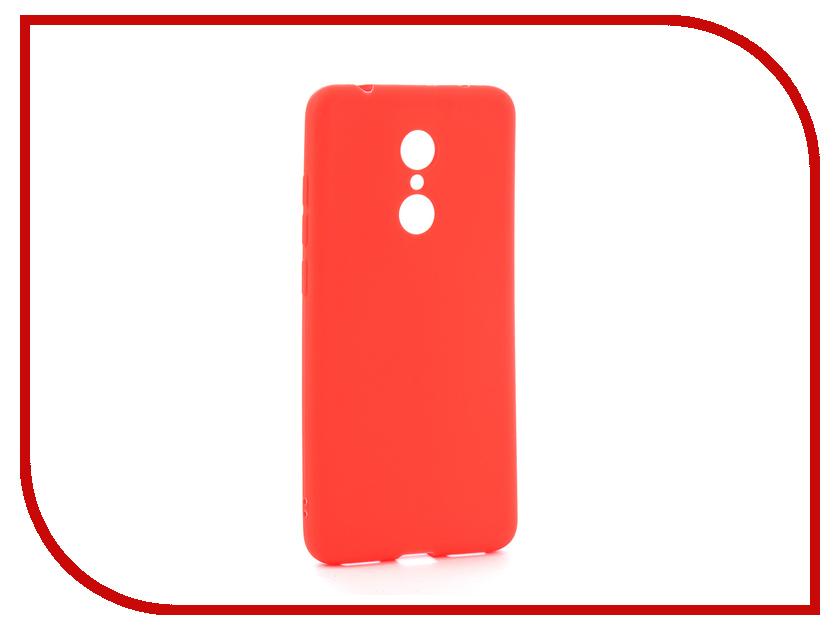 Аксессуар Чехол Xiaomi Redmi 5 Zibelino Soft Matte Red ZSM-XIA-5-RED