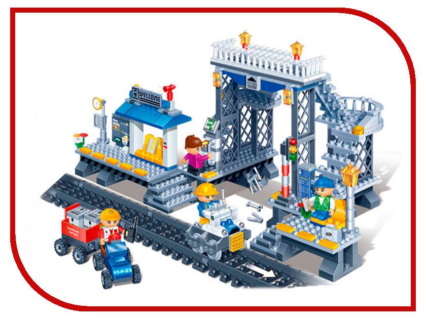 Конструктор Banbao Железнодорожная станция 342 дет. 8227 / 24856