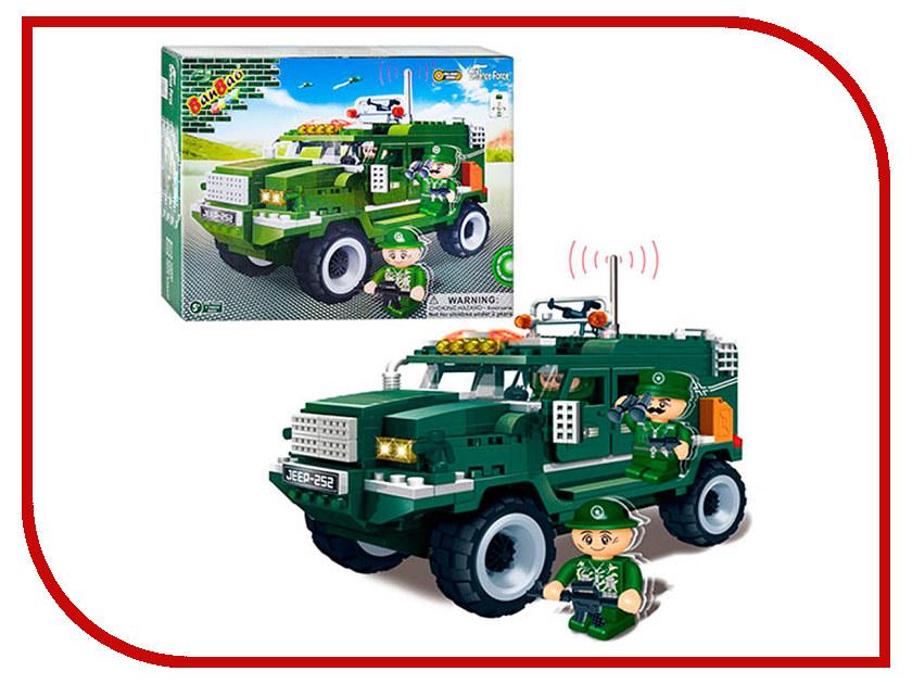 Конструктор Banbao Военный джип 290 дет. 8252 / 24864 конструктор banbao пожарный джип 158 элементов 8299