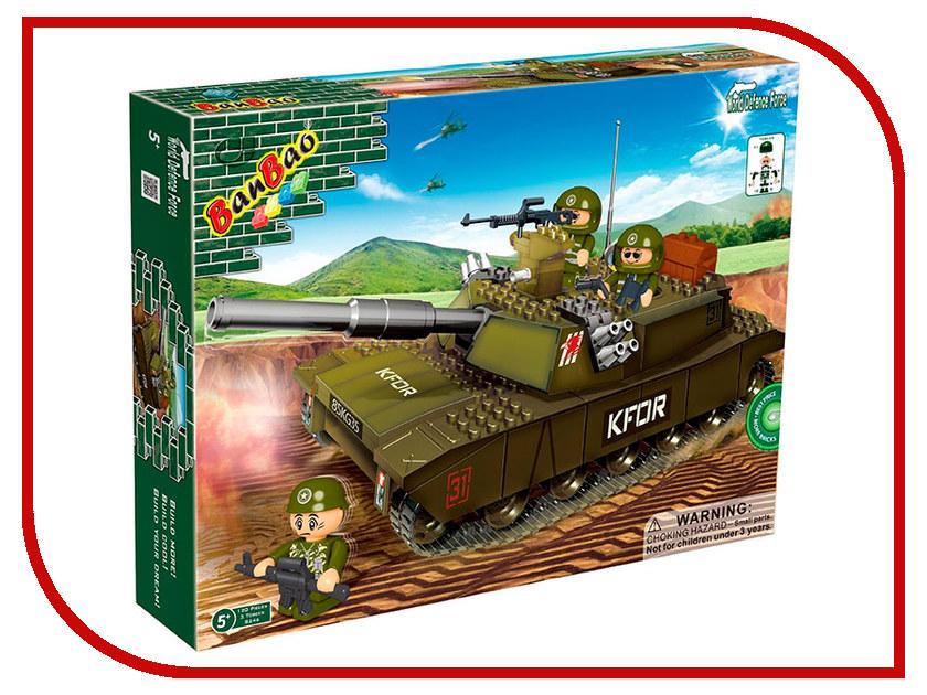Конструктор Banbao World Defence Force Танк 120 дет. 8246 / 24866 конструктор lele my world на рыбалке 375 дет 33095