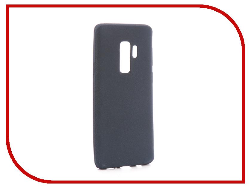 Аксессуар Чехол для Samsung Galaxy S9 Plus Zibelino Soft Matte Dark Blue ZSM-SAM-S9-PLS-DBLU женское платье sam s tree 2517014 2015