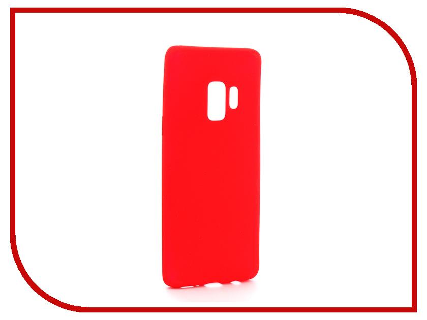 Аксессуар Чехол для Samsung Galaxy S9 Zibelino Soft Matte Red ZSM-SAM-S9-RED
