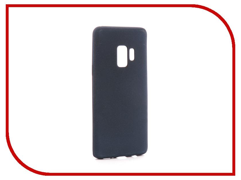 Аксессуар Чехол для Samsung Galaxy S9 Zibelino Soft Matte Dark Blue ZSM-SAM-S9-DBLU