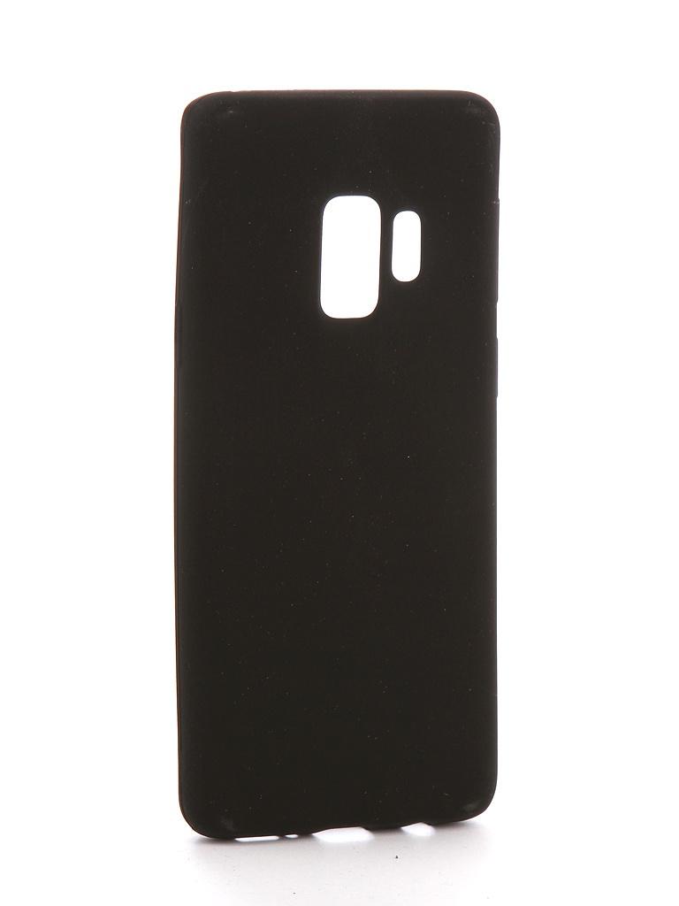 Чехол для Samsung Galaxy S9 Zibelino Soft Matte Black ZSM-SAM-S9-BLK