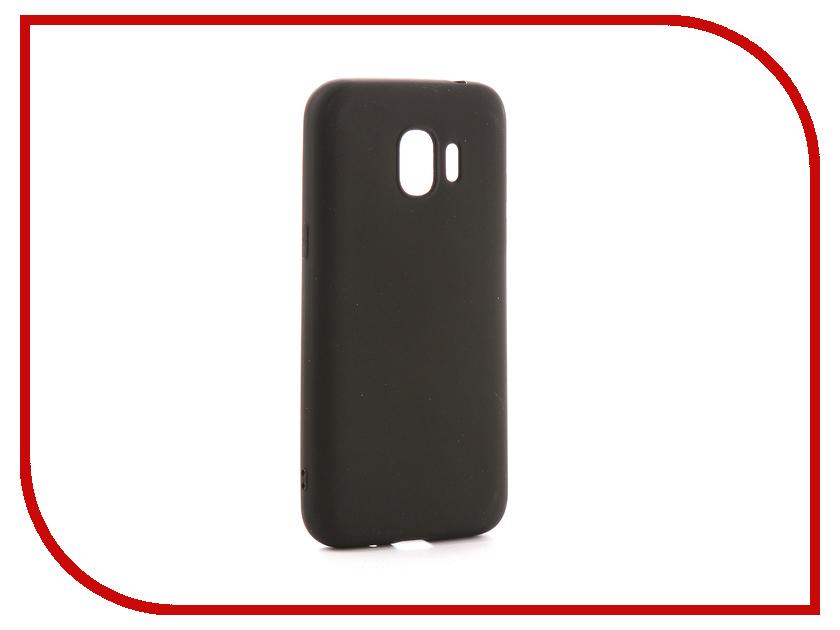 Аксессуар Чехол для Samsung Galaxy J2 2018 J250F Zibelino Soft Matte Black ZSM-SAM-J250F-BLK